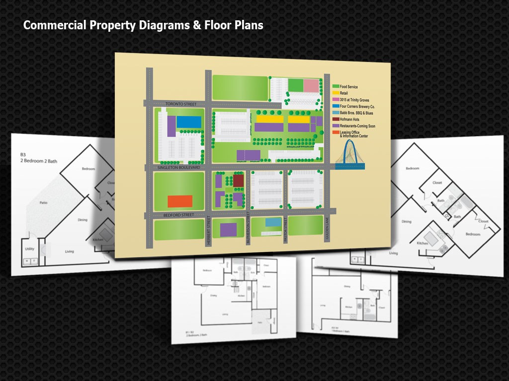 Diagrams-Floorplans