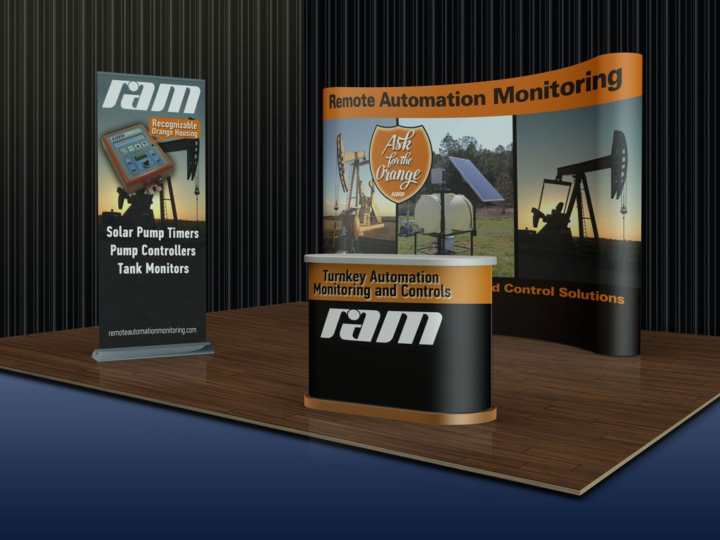 RAM.--show-booth