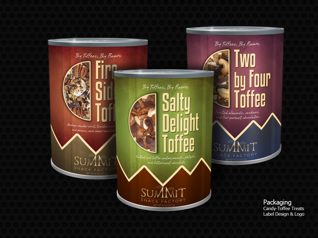 Summit Toffee Packaging