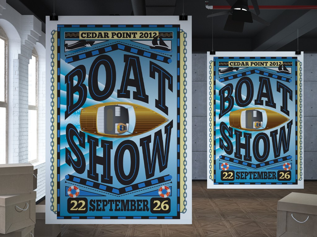 Boat Show Poster