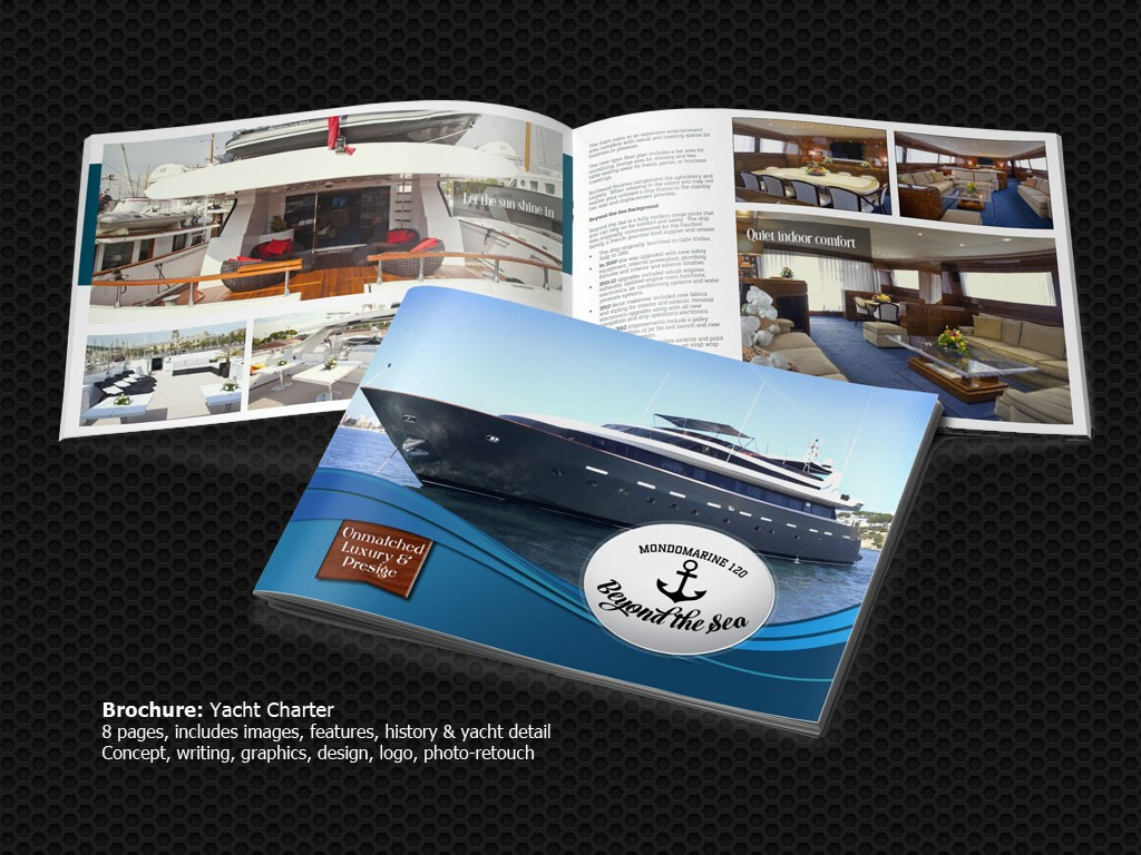 "Yacht Sales Brochure ""General Marketing Service"""