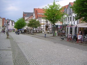 German small town retail