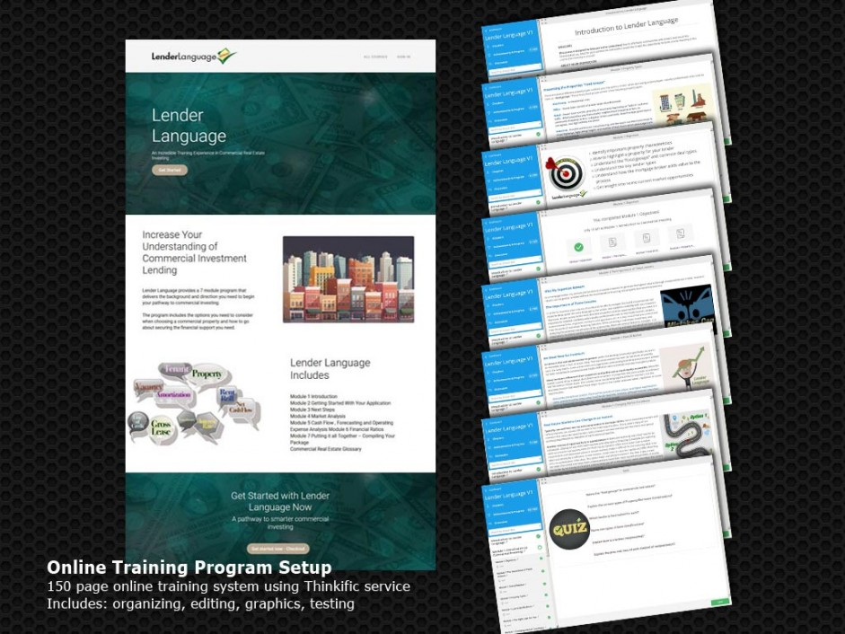 Online Training System - Thinkific Course