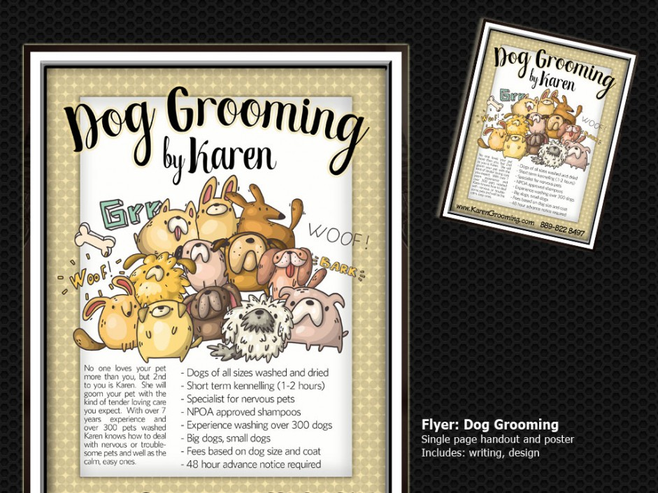 flyer-dog-grooming